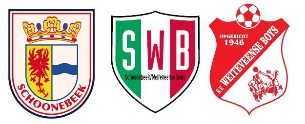 Teamindelingen SWB seizoen 2020/2021
